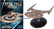 Star Trek Discovery Starships Collection #2 USS Discovery NCC-1031 Starship Eaglemoss